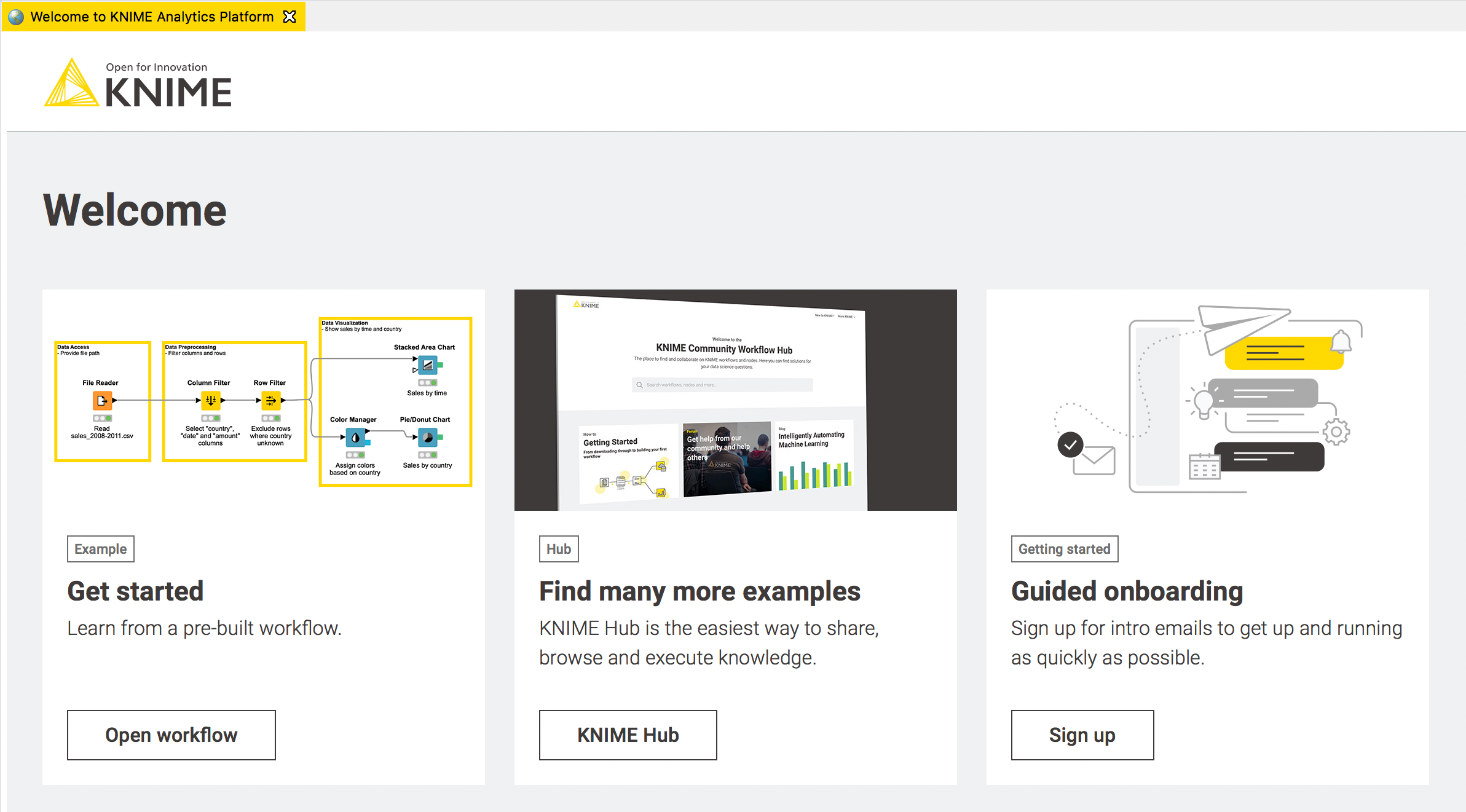 Seven things to do after installing KNIME