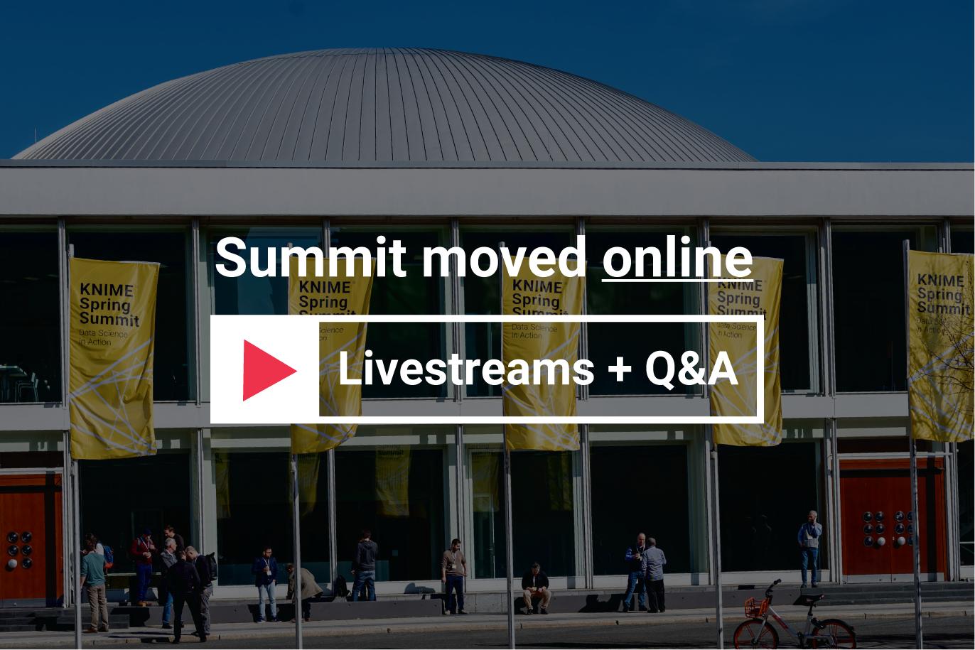 KNIME Spring Summit 2020 Online