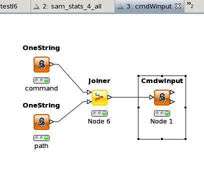 CMDWinput example workflow