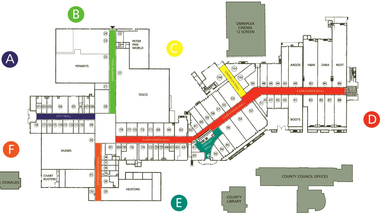 Shopping Center Plan – Articleblog info