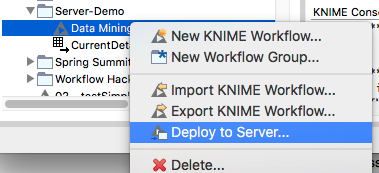 What's New in KNIME Analytics Platform 3 4, KNIME Server and