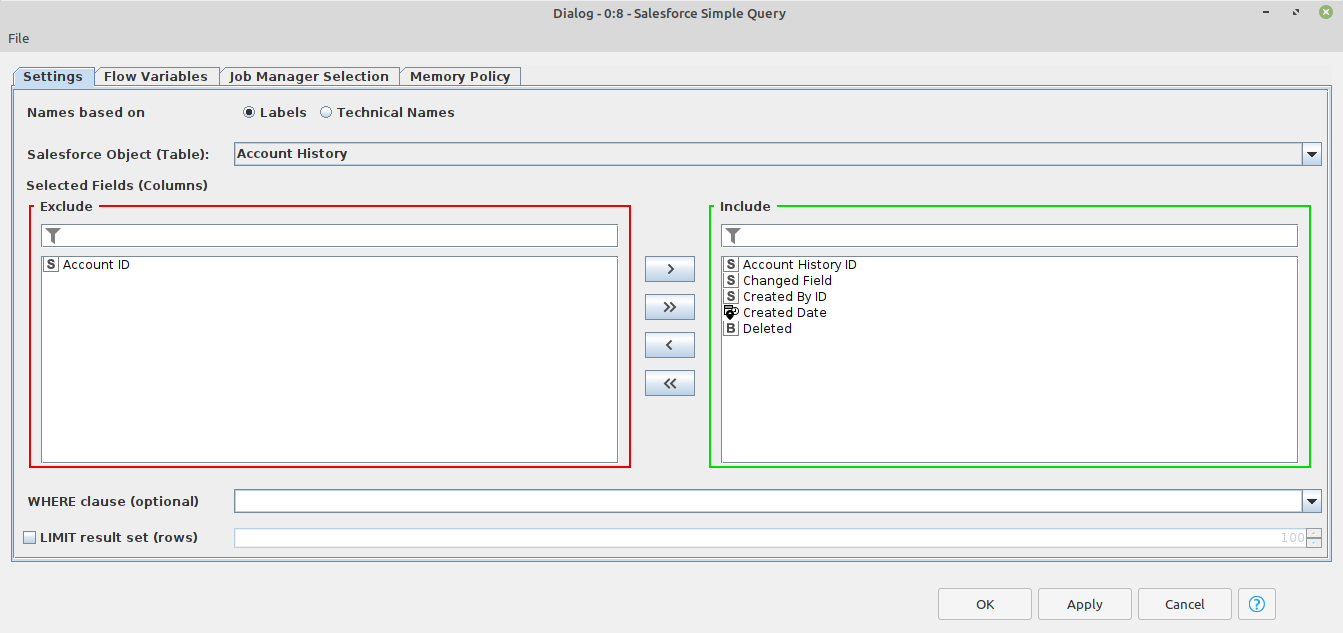 knime-salesforce-integration-single-query