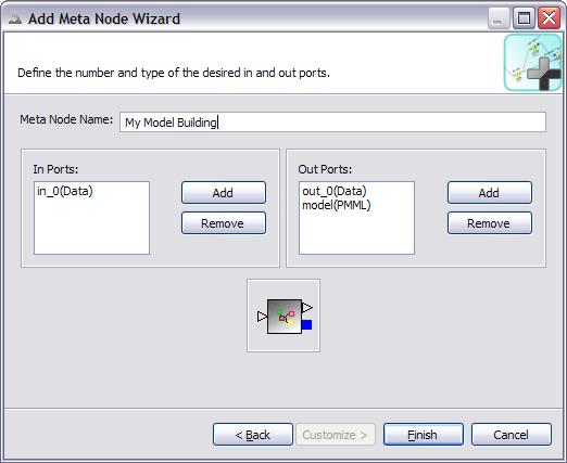 screenshot of meta node wizard second page