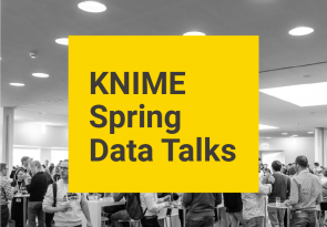 KNIME Spring Data Talks