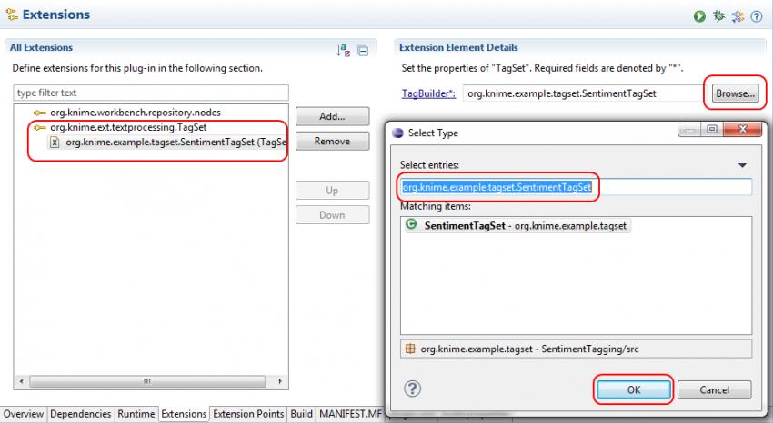 For Developers: Integration of Custom Tag Sets | KNIME