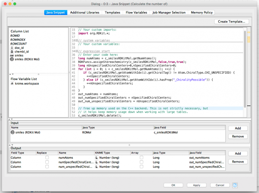 Using custom data types with the Java Snippet node | KNIME