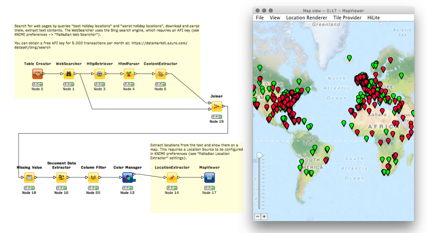 Geo nodes knime pizza connection geocoding mapviewer and clustering gumiabroncs Image collections