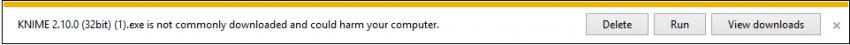 Windows 8 SmartScreen warning
