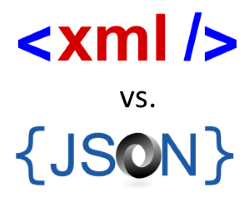 Image result for xml vs json