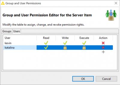 KNIME Analytics Platform KNIME Server Whats New Server User Permissions