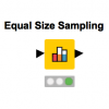 equal_size_sampling_practicing_data_science_knime_analytics_platform